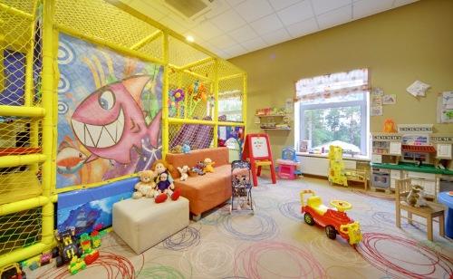 ресторан с хорошей детской комнатой