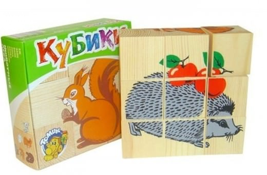 Детские кубики Бэбивиль