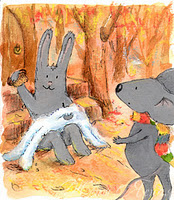 мышонок и заяц