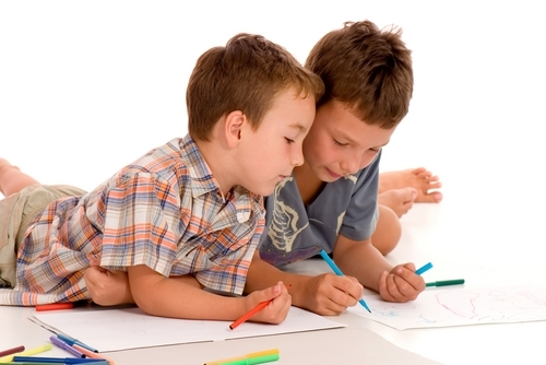 рисуют дети