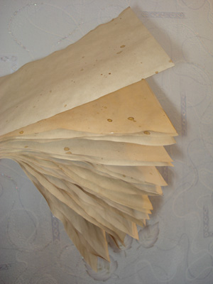 состаренная бумага
