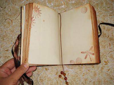 Как украсить блокноты своими руками