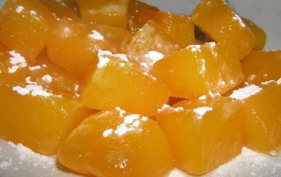 Рецепт тыква с сахаром запеченная в духовке кусочками