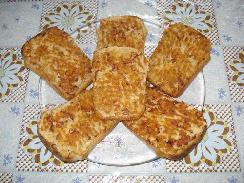 бутерброд с горбушей