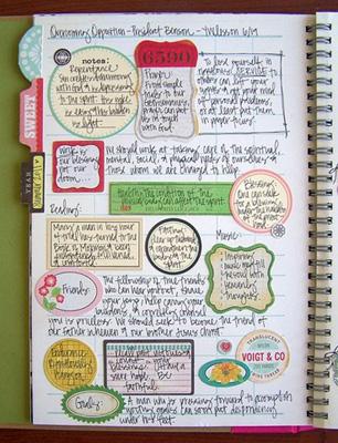 необычное оформление личного дневника